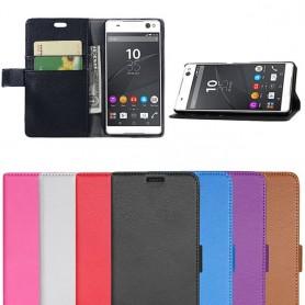 Mobilplånbok Xperia C5 Ultra Dual