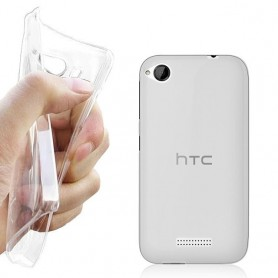 HTC Desire 320 Silikon Transparent