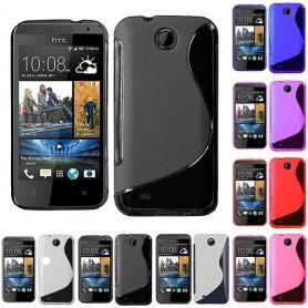 S Line silikon skal HTC Desire 300