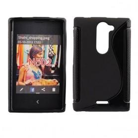 S Line silikon skal Nokia Asha 502