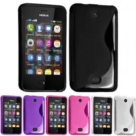 S Line silikon skal Nokia Asha 501