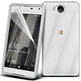 Clear Hard Case Microsoft Lumia 650
