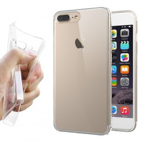 Apple iPhone 7 Plus / 8 Plus Silikon skal Transparent mobilskal