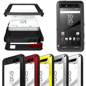 LOVE MEI Powerful Sony Xperia Z5 Premium mobilskal metall