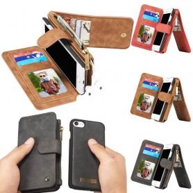 Multiplånbok 14 kort iPhone 7 / 8 mobilskal fodral