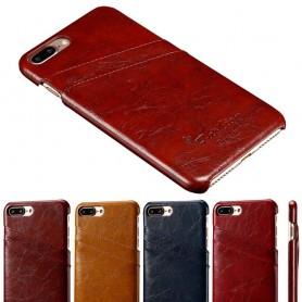 Retro skal med kortplatser iPhone 7 Plus / 8 plus mobilskal