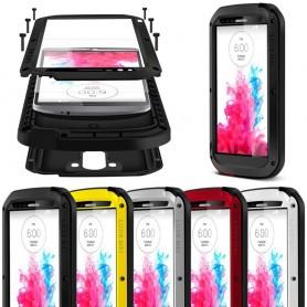 LOVE MEI Powerful LG G3 mobilskal metall