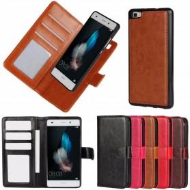 MOVE Magnetisk mobilplånbok 2i1 Huawei P8 Lite