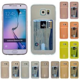 Silikon skal med kortplats Galaxy S6
