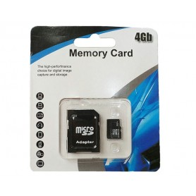4 GB Micro SD hukommelseskort