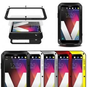 LOVE MEI Powerful LG V20 mobilskal metall lifeproof
