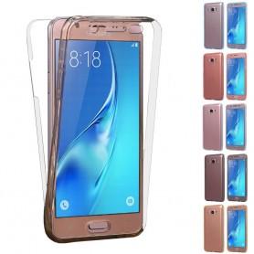 360 heltäckande silikon skal Galaxy J1 2016
