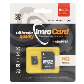 IMRO Micro SDHC Minneskort 64Gb Klass 10