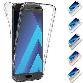 360 heltäckande silikon skal Galaxy A7 2017