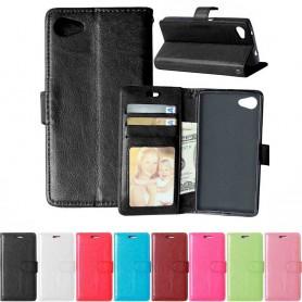 Mobilplånbok 3-kort Sony Xperia Z5 Compact
