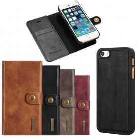 Mobilplånbok Magnetisk DG-Ming iPhone 5,5S,5SE