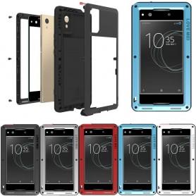 LOVE MEI Powerful skal Sony Xperia XA1 G3316 mobilskal metall