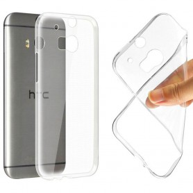HTC One M8 Silikon skal Transparent mobil skydd