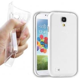Samsung Galaxy S4 (GT-i9500) silikon skal transparent