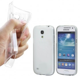 Samsung Galaxy S4 Mini silikon skal transparent