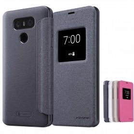 FlipCover Nillkin Sparkle LG G6 H870 mobilskal CaseOnline.se
