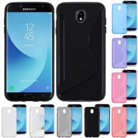 S Line silikon skal Samsung Galaxy J5 2017 Sm-J530F mobil skydd CaseOnline.se