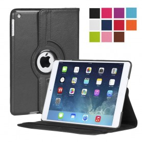 Läderfodral 360 roterbart Apple iPad 2/3/4 ställ skydd väska CaseOnline.se