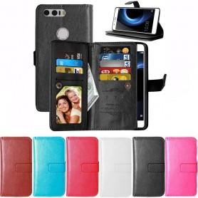 Dubbelflip Flexi mobilplånbok 9 kort Huawei Honor 8 CaseOnline