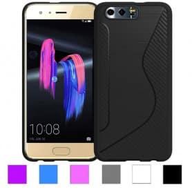S Line silikon skal Huawei Honor 9 mobilskal skydd caseonline