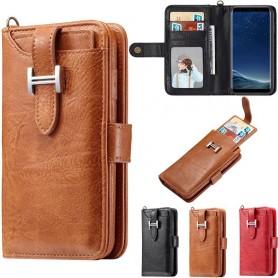 Multiplånbok 3i1 9-kort Samsung Galaxy S8 Plus SM-G955F mobilplånbok fodral skal