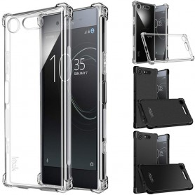 IMAK shockproof silikon skal Sony Xperia XZ1 Compact (G8441) mobilskal skydd