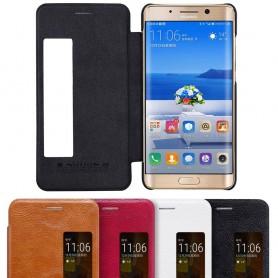 Nillkin Qin FlipCover Huawei Mate 9 Pro LON-L29 mobilskal fodral skydd