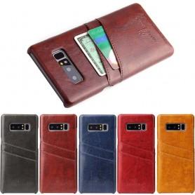 Retro skal med kortplatser Samsung Galaxy Note 8 mobilskal fodral