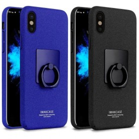 IMAK Ring Case Apple iPhone X mobilskal selfieskal
