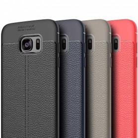 Läder mönstrat TPU skal Samsung Galaxy S7 Edge mobilskal caseonline