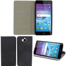 Moozy Smart Magnet FlipCase Huawei Y6 2017 mobilskal