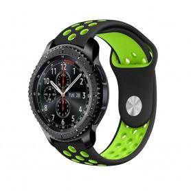 EBN Sport Armband Samsung Gear S3 Sv-Grön