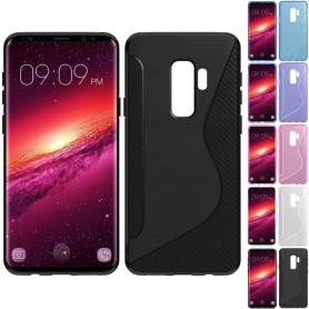 S Line silikon skal Samsung Galaxy S9 Plus SM-G965 tpu mobilskal