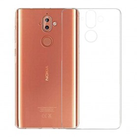 Clear Hard Case Nokia 9 mobilskal transparent