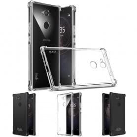 IMAK Shockproof silikon skal Sony Xperia L2 H4311 mobilskal
