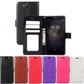 Mobilplånbok 3-kort Sony Xperia L2 H4311 mobilskal fodral vaska