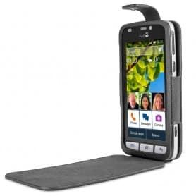 Doro Liberto 820 FlipCover - Svart fodral mobilskal skydd