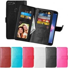 Mobilplånbok Dubbelflip Flexi Huawei Honor 9 Lite fodral mobilskal
