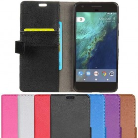 Mobilplånbok 2-kort Google Pixel mobilskal fodral flipskal