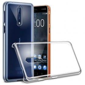 Mobilskal Clear Hard Case Nokia 8 TA-1004