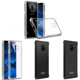 IMAK Shockproof silikon skal Samsung Galaxy S9 mobilskal skydd
