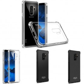 IMAK Shockproof silikon skal Samsung Galaxy S9 Plus mobilskal skydd