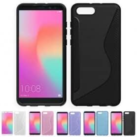 S Line silikon skal Huawei Honor View 10 mobilskal