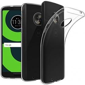 Mobilskal Motorola Moto G6 Silikon skal Transparent