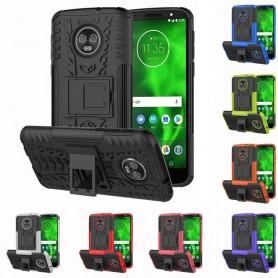 Stöttåligt skal Motorola Moto G6 Plus mobilskal ställ